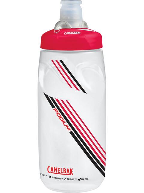 CamelBak Podium Drikkeflaske 620ml rød/hvid